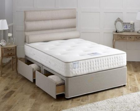 Dura beds nimbus 1000 pocket sprung mattress for Divan direct