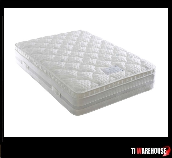 Dura Oxford 1000 Pocket Sprung Pillow Top Divan Set Free