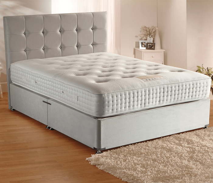 Adjustable Beds In Belfast : Grand lux pocket sprung divan bed