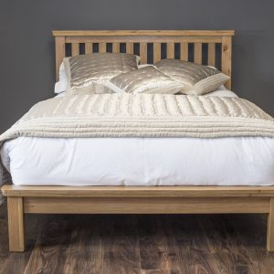 Oak bedframe