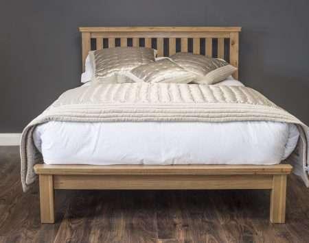 Oak bedframe