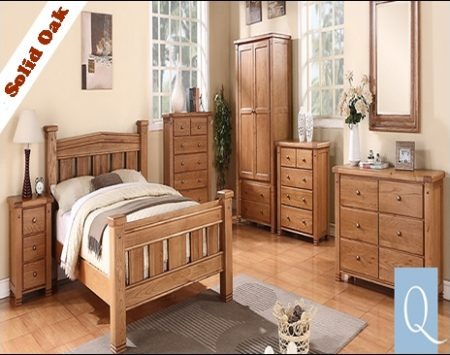 Michigan Solid Oak Bedroom Collecton