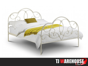 Julian Bowen arabella metal bed frame