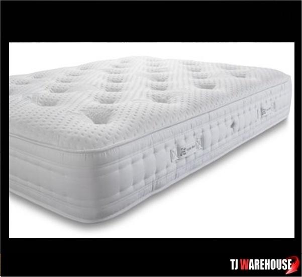 cassini pocket sprung handmade mattress