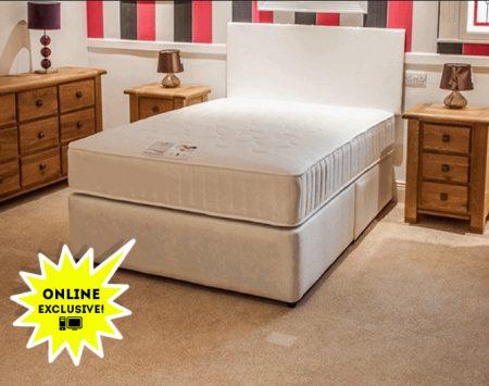 dual memory foam mattress